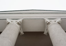 Columns for buildings in the Ionian style Stock Images