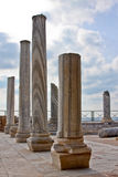The Columns of Caesarea Royalty Free Stock Photos
