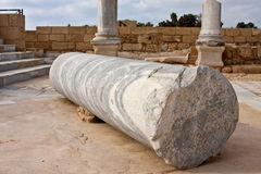 The Columns of Caesarea Royalty Free Stock Images