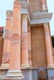 Columns in Cartagena Roman Amphitheater Spain Royalty Free Stock Photo