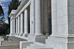 Columns at Cheesman. Columns on the Pavilion in Cheesman Park in Denver, Colorado Stock Images