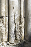 Columns - Church of the Holy Sepulchre Royalty Free Stock Photos