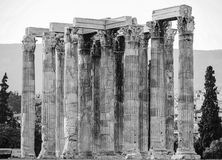 Columns classic. Columns in the classic style Stock Photo