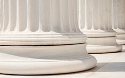 Columns. In the classic style Royalty Free Stock Photography