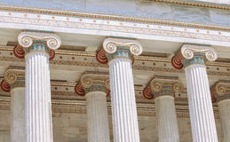 Columns. In the classic style Royalty Free Stock Photos