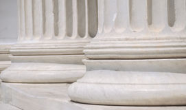 Columns. In the classic style Royalty Free Stock Photo