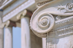 Columns classic Stock Photography