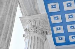 Columns classic Stock Image
