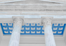 Columns classic. Columns in the classic style Royalty Free Stock Photos