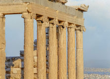 Columns in the classic style Royalty Free Stock Photo