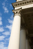 Columns and clouds Royalty Free Stock Photography