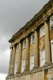 Columns and clouds at the Royal crescent, Bath Stock Photography