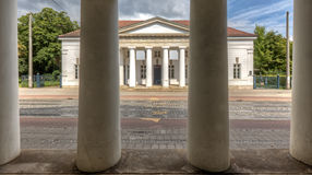 Columns Through Columns Royalty Free Stock Photography