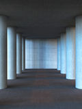 Columns from concrete Royalty Free Stock Photos