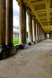 Columns corridor Stock Images
