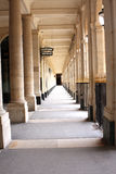 Columns corridor Royalty Free Stock Photos