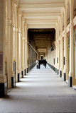 Columns corridor Royalty Free Stock Photography