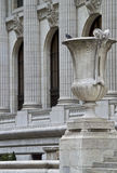 Columns and Cup Stock Photo