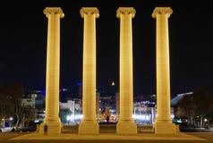 columns de espanya placa Στοκ Εικόνες
