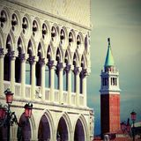Columns of the Ducal Palace Royalty Free Stock Photos