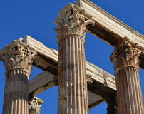 Columns at Ephesus Royalty Free Stock Images