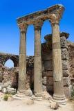 Columns at Ephesus, Turkey Stock Image