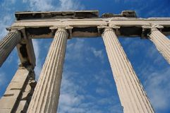 Columns of Erechtheion Stock Photography