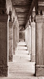 Columns at Fatehpur Sikri Royalty Free Stock Photos