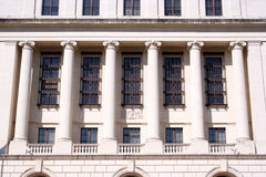 Columns on Federal Building Royalty Free Stock Image