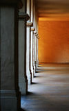 Columns (Focus on middle column) Stock Photo