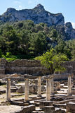 Columns in Glanum Royalty Free Stock Image