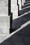 Columns of granite Stock Photo