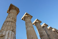 Columns Greek Temple Royalty Free Stock Photography