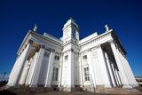 Columns of the Helsinki Cathedral Royalty Free Stock Images