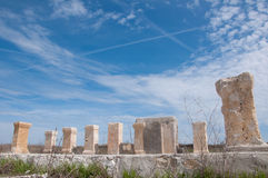 Columns of Histria Royalty Free Stock Images