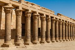 Columns of Isis Stock Image