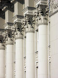 Columns of justice Stock Image
