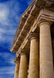 Columns of justice Stock Photo
