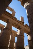Columns of Karnak Temple Royalty Free Stock Image