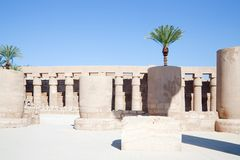 Columns of Karnak Temple Stock Images