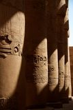 Columns at Karnak Temple Royalty Free Stock Photos