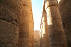 Columns of Karnak Temple Royalty Free Stock Image