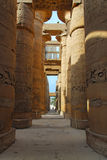 Columns in the Karnak Temple Royalty Free Stock Image