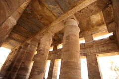 Columns of Karnak Temple, Egypt, Luxor Royalty Free Stock Image