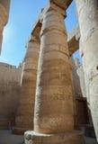 Columns in Karnak temple Royalty Free Stock Image