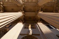 Columns Kazan Cathedral Stock Image