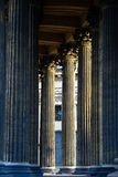 Columns of the Kazan Cathedral in Saint-Petersburg Royalty Free Stock Image