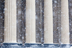 Columns of the Kazan Cathedral  Royalty Free Stock Photos
