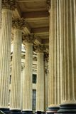Columns of Kazan Cathedral Stock Photography