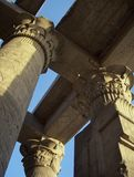 Columns of Kom-Ombo Stock Photography